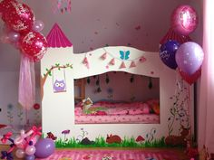DIY Princess Dream Bed- since my little princess has asked for a princess bed for her birthday