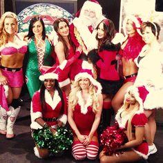WWE Divas & Santa