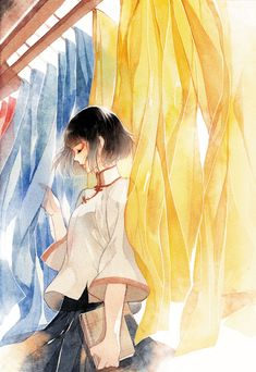 Pixiv Id 4656825 Mobile Wallpaper - Zerochan Anime Image Board Watercolor Illustration, Graphic Illustration, Watercolor Art, Nursery Drawings, Art Drawings, Anime Art Girl, Manga Girl, Bunny Girls, Manga Anime