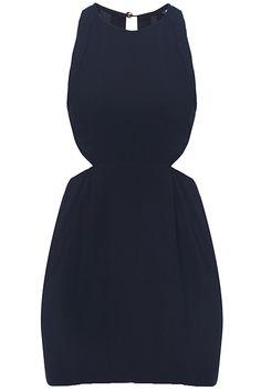 21f273bde2 Cut-out Sleeveless Black Dress. Description Black dress