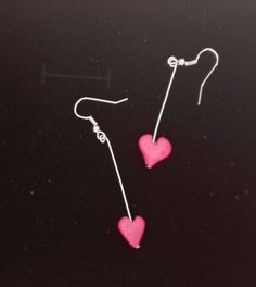 Earings, hearts