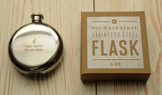 three sheets to the wind flask. at izola.com, groomsmen gift