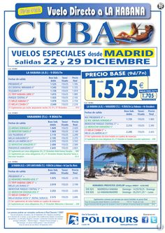 CUBA : Varadero, salidas 22 y 29/12 desde Madrid (9d/7n) desde 1.849€ ultimo minuto - http://zocotours.com/cuba-varadero-salidas-22-y-2912-desde-madrid-9d7n-desde-1-849e-ultimo-minuto-3/