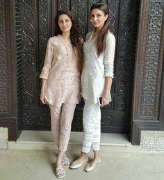 Pakistani Eid outfits by Nazli Akbar.