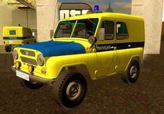 UAZ-469 Police Free Vehicle Paper Model Download - http://www.papercraftsquare.com/uaz-469-police-free-vehicle-paper-model-download.html#125, #SUV, #UAZ, #UAZ469, #VehiclePaperModel
