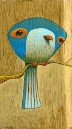 Blue bird by Brett Superstar