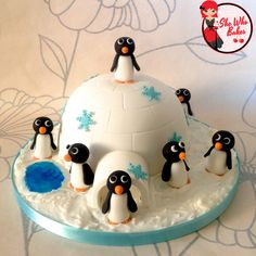 "For a fun and unique Christmas centrepiece, follow this step by step tutorial to make your own Igloo Cake with adorable penguins! Equipment 6"" hemisphere cake tin or small pyrex bowl. 6″ More →"