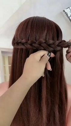 Easy Hairstyles For Medium Hair, Braids For Long Hair, Braided Hairstyles, Cool Hairstyles, Hairstyles Videos, Simple Hairstyles For Medium Hair, Elven Hairstyles, Wedding Hairstyles, Hair Simple
