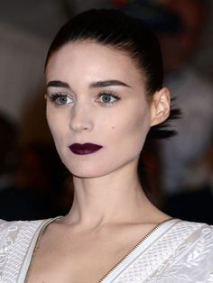 Met Ball Top 10: Rooney Mara http://beautyeditor.ca/2013/05/09/10-celebs-who-pulled-off-the-met-balls-punk-theme-and-brought-us-some-fresh-new-beauty-inspiration/