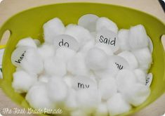 The First Grade Parade: There's SNOW Time Like Winter! Cute Snowball Sight Word game - includes a FREEBIE to do this in your classroom!