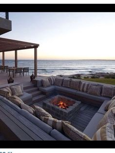 3 Awesome Cool Tips: Fire Pit Wood Back Yard fire pit gazebo concrete patios.Fire Pit Lighting Home rectangle fire pit grill.Fire Pit Wood Back Yard. Future House, Outdoor Spaces, Outdoor Living, Outdoor Decor, Outdoor Seating, Backyard Seating, Outdoor Lounge, Garden Seating, Outdoor Retreat