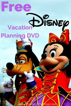 Free Disney Vacation Planning DVD 2017