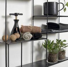 Labyrint hylle sort 40x40 - designerhome.no Sorting, Shoe Rack, Design, Home Decor, Shoe Cupboard, Interior Design, Design Comics, Home Interior Design