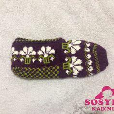Çetik Modelleri 2017 | Sosyete Kadınlar - En İyi Kadın Sitesi Knitting Socks, Knit Crochet, Diy And Crafts, Espadrilles, Slippers, Booty, How To Make, Image, Fashion