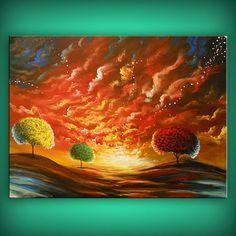 art abstract painting canvas wall art xl canvas by mattsart