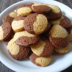 Rezept schnelle weihnachtliche Butterschmalzkekse von buchfink - Rezept der Kategorie Backen süß
