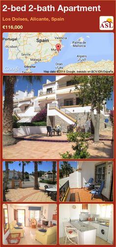 2-bed 2-bath Apartment in Los Dolses, Alicante, Spain ►€116,000 #PropertyForSaleInSpain