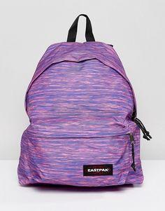 Eastpak Padded Pak R Backpack in Purple Marl