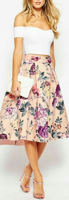 Wedding guest outfit chic midi skirts 53 ideas for 2019 Mode Outfits, Skirt Outfits, Dress Skirt, Dress Up, Fashion Outfits, Womens Fashion, Fashion Clothes, Fashion Trends, Fashion Ideas