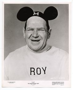 Remember the old chapparone Mouseketeer Roy.