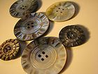 Antique Mother of Pearl Buttons - ANTIQUE, BUTTONS, Mother, Pearl