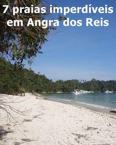 Angra dos Reis é um destino maravilhoso!!! Possui 365 ilhas, uma para cada dia do ano e muitas praias deslumbrantes, por isso nós preparamos para vocês uma lista com 7 praias imperdíveis em Angra dos Reis.