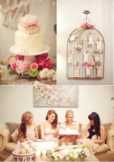 Bridal shower ideas ----Orange County - Weddings on Style Me Pretty - Part 5