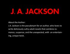 The Author J. A. JACKSON