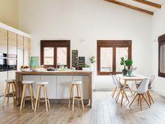 Style rustique et nordique en Espagne