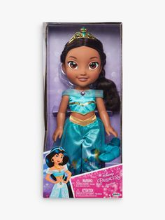 Superb Disney My First Toddler Princess Jasmine Doll Now at Smyths Toys UK. Shop for Disney Princess At Great Prices. Disney Princesse Jasmine, Aladdin Princess Jasmine, Princess Zelda, Disney Princess Toddler Dolls, Disney Dolls, Beautiful Dolls, Beautiful Outfits, Toys Uk, Summer Fun