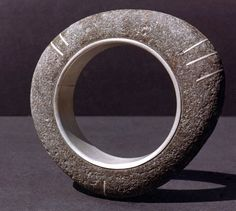 Jim COTTER (US) -  Stone and silver BRACELET