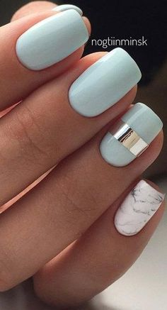 29 Summer Nail Designs that Are Trend For Summer Nail Designs Nail Desi . - Women& Fashion - 29 Summer Nail Designs that Are Trend For Summer Nail Designs Nail Desi … – - Cute Summer Nails, Cute Nails, Pretty Nails, Nail Summer, Spring Nails, Gorgeous Nails, Green Nails, Purple Nails, Mint Nails