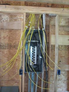 Home electrical wiring diagram blueprint our cabin pinterest electrical panel installation picture asfbconference2016 Gallery
