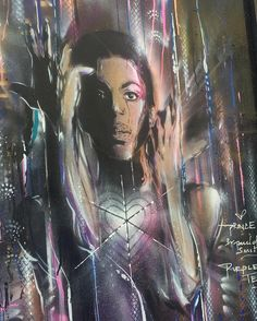 Yet again this guy has done a wicked piece @pauldonsmith #prince #legends…
