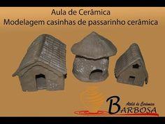 Modelagem casinhas de passarinho cerâmica - YouTube