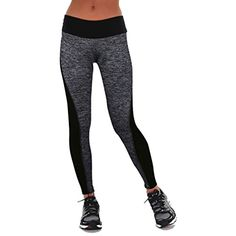 7362dd2835fa Women Workout Trousers Fitness Leggings Pants Patchwork High Waist Leggings  Item Type  LeggingsGender  WomenPattern Type  PatchworkThickness   StandardModel ...