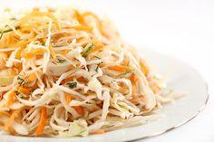 Салат из свежей капусты со сладким перцем