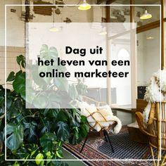 Dag uit het leven van een online marketeer - Online marketing - Social media advertising - Google Adwords - Facebook advertenties - Ads - Instagram Online Marketing, Digital Nomad, Brainstorm, Blog Tips, Social Media Tips, Facebook, Google, Travel, Instagram