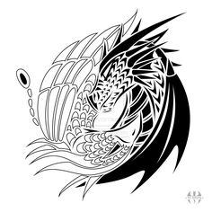 yin-yang-dragon-tattoo--image-tattoo-design-yin-yang-dragon-phoenix-by-h-brid-on-deviantart.png (1024×1024)