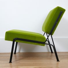 Pair of G2 chairs by ARP - Airborne edition - 1953   From a unique collection of antique and modern slipper chairs at https://www.1stdibs.com/furniture/seating/slipper-chairs/