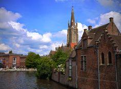 A fairy-tale city: Bruges, Belgium