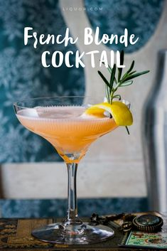 You'll love this #floral #citrus #cocktail