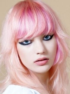 Pastel pink hair! {Pink & Pink: for Sony Vaio E Series notebooks : www.sony.com.au } #sonyvaio