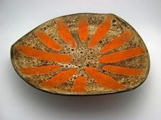 Chalvignac Platter - Maurice Chalvignac, Chalvignac Art Pottery (1965)