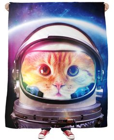 Would you believe we put a cat on the moon? Well not really, but you can still pretend we did with our Space Cat Shower Curtain! After reading A Space Odyssey. Cat Has Fleas, Cat Couch, Cat Shower Curtain, Shower Curtains, Rave Girls, Cat Bandana, Dancing Cat, One Small Step, Space Cat