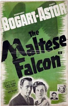 The Maltese Falcon (1940) starring Humphrey Bogart, Mary Astor, Gladys George and Peter Lorre
