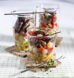 Unser beliebtes Rezept für Steak-Cocktail und mehr als 55.000 weitere kostenlose Rezepte auf LECKER.de.