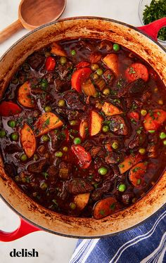 Beef Recipes, Soup Recipes, Cooking Recipes, Cooking Blogs, Vegan Recipes, Easy Beef Stew, Stovetop Beef Stew Recipe, Beef Stew Stove Top, Dining
