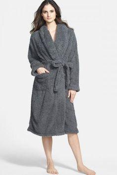 Stretch Chenille Robe