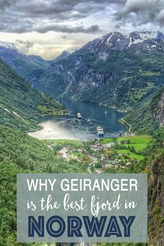 I had long heard tales about Geiranger and Geirangerfjord. I had heard of its beauty and amazing landscapes. It was said that it was the best of the fjords.